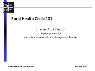 Rural Health Clinic 101