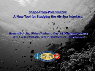 Shape-from-Polarimetry: A New Tool for Studying the Air-Sea Interface
