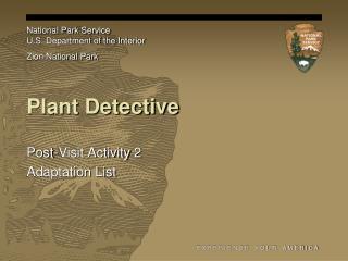 Plant Detective