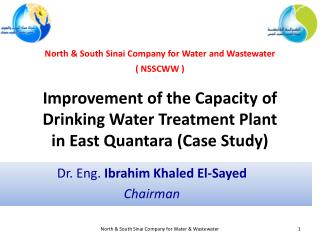 Improvement of the Capacity of Drinking Water Treatment Plant in East  Quantara  (Case Study)