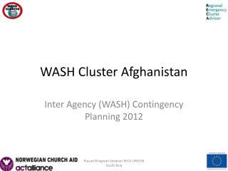 WASH Cluster Afghanistan
