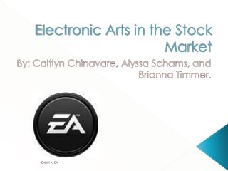 Electronic Arts in the Stock Market