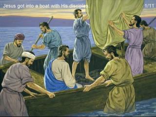 PP Jezus stilt de storm
