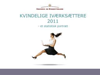 KVINDELIGE IVÆRKSÆTTERE 2011 - et statistisk portræt