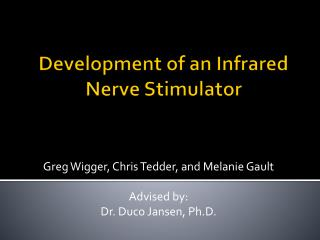 Development of an Infrared Nerve Stimulator