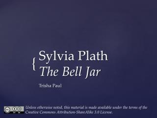 Sylvia Plath  The Bell Jar