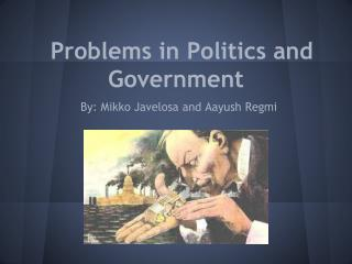 Problems in Politics and Government