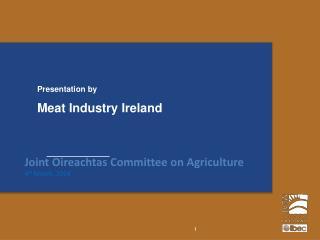 Meat Industry Ireland