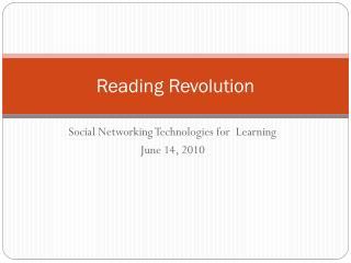 Reading Revolution