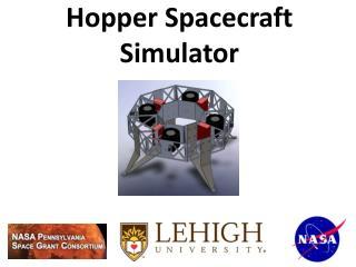 Hopper Spacecraft Simulator
