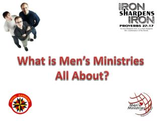 What is Men's Ministries  All About?
