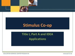 Stimulus Co-op