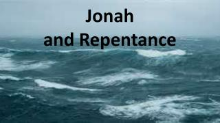 Jonah and Repentance