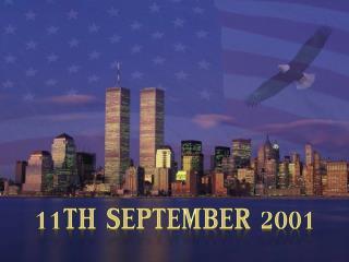11th  september  2001