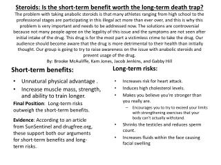 Short-term benefits: