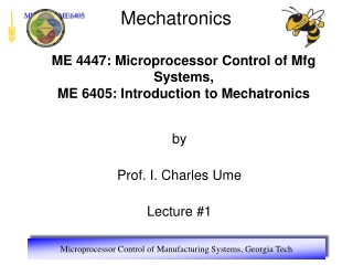 Introduction to modern microprocessor technology