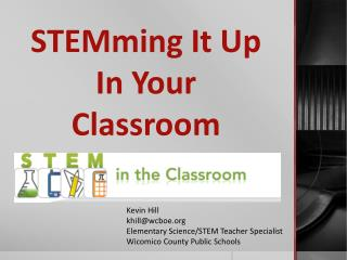 STEMming  It Up In Your Classroom