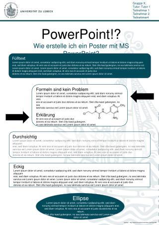 PowerPoint!? Wie erstelle ich ein Poster mit MS PowerPoint?
