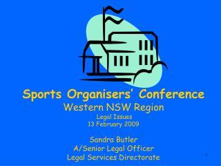 Legal Issues in School Sport - presentation