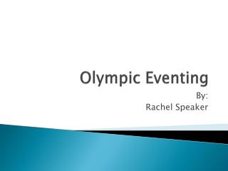 Olympic Eventing