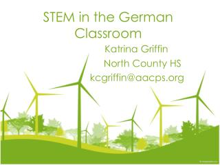 STEM in the  German Classroom