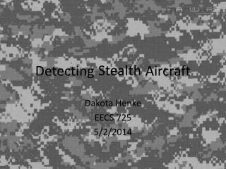 Detecting               Aircraft