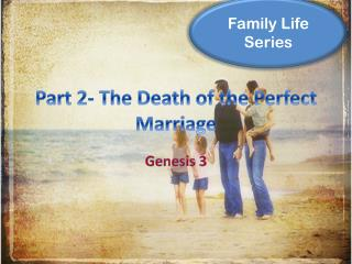 Part  2-  The  Death of the Perfect  Marriage