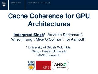 Cache Coherence for GPU Architectures
