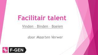 Facilitair talent