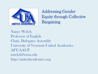 Addressing Gender Equity through Collective Bargaining