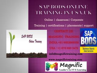 Sap bods online training in usa,uk