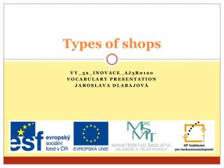Types of shops
