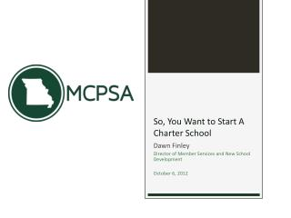So, You Want to Start A Charter School