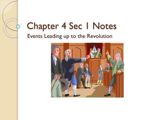 Chapter 4 Sec 1 Notes