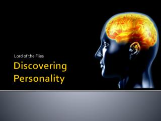 Discovering  Personality