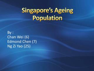 Singapore's Ageing Population