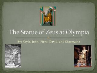 The Statue of Zeus at Olympia