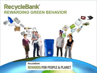 REWARDING GREEN BEHAVIOR