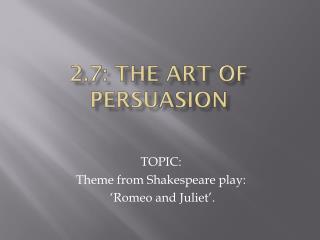 the art of persuasion 2 essay Art of persuasion essay: writing service in c# napisano w informacje w tej grze mamy kilka jej rodzajów każdy jest bardzo korzystny, jeśli zwrócimy uwagę na.