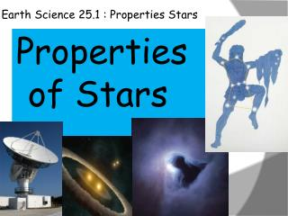 Earth Science 25.1 : Properties Stars