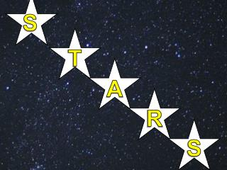 This is what  you  see when  you look up at the night sky!