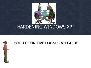 Hardening Windows XP:
