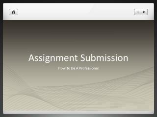 Assignment Submission
