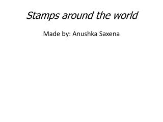 Stamps around the world