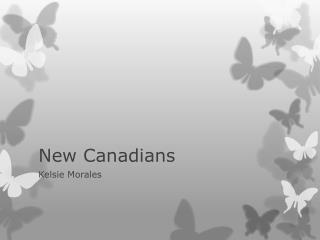 New Canadians