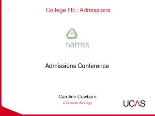 College HE: Admissions