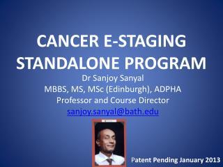 CANCER E-STAGING STANDALONE PROGRAM
