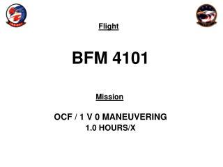 BFM  4101