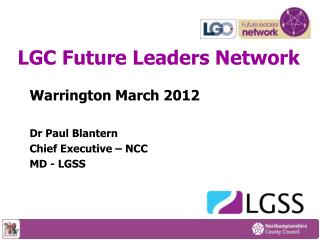 LGC Future Leaders Network