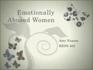 Emotionally Abused Women